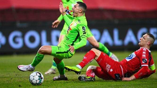 """Timothy Derijck ziet dat vuurwerk en tifo KV Kortrijk niet helpen in derby: """"We geraakten niet nabij hun doel"""""""