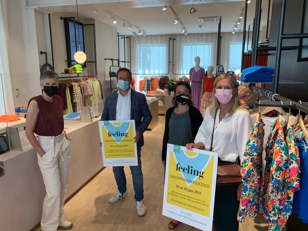 Brugge zet een winkelweekend op het getouw, in samenwerking met Feeling.