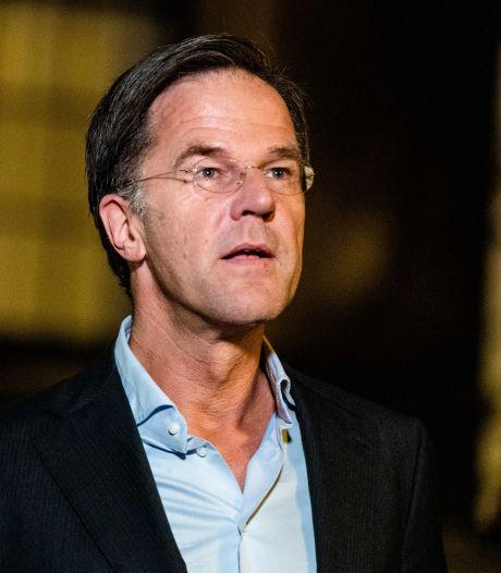 Rutte: Kabinet werkt 'heel hard' aan noodplan, is 'onze heilige plicht'
