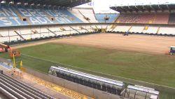 Jan Breydelstadion krijgt nieuwe grasmat, Cercle draagt deel van de kosten