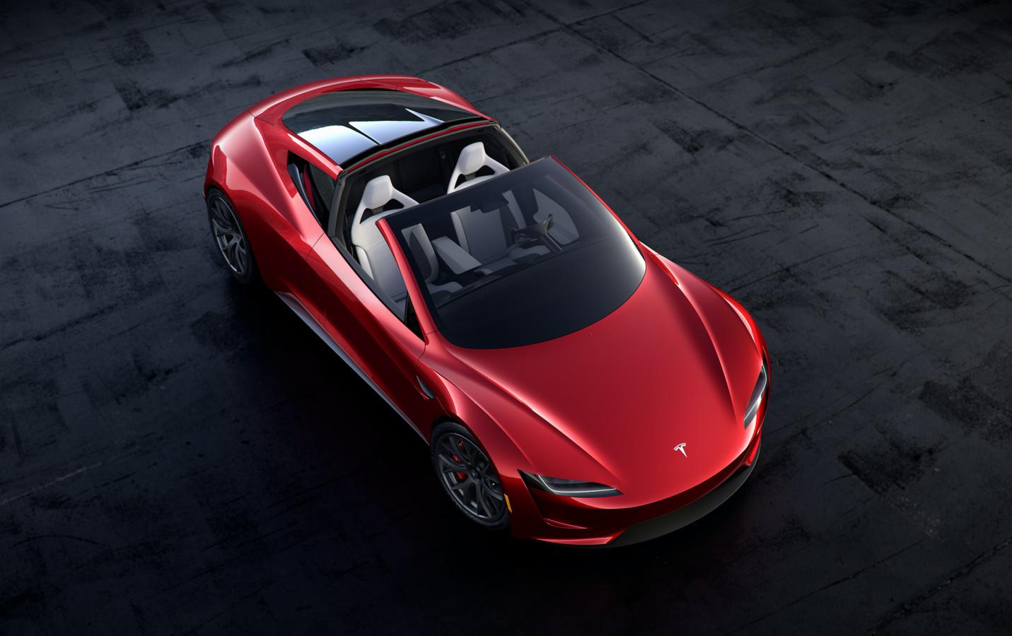 De volgende Tesla Roadster is al in 2017 aangekondigd, maar komt waarschijnlijk pas in 2023