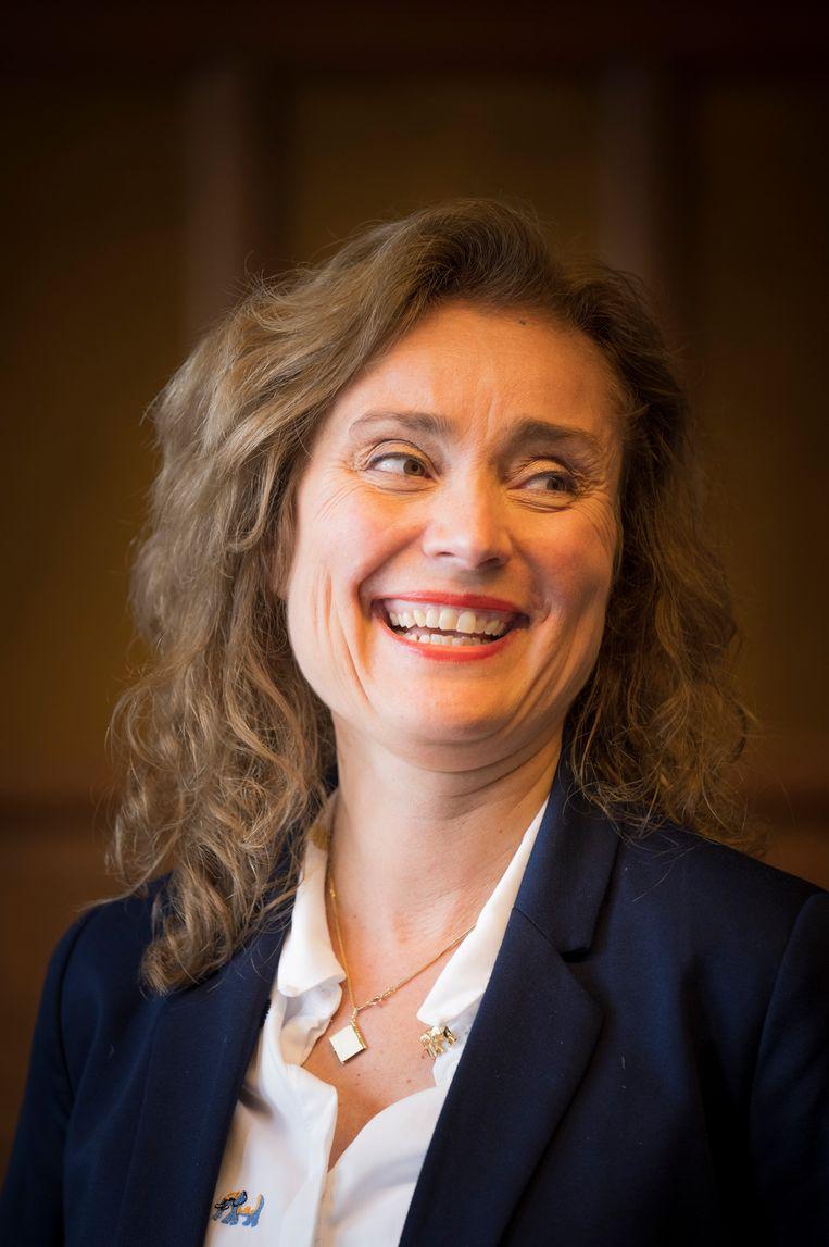 Vera Bergkamp (D66), de nieuwe voorzitter van de Tweede Kamer. Beeld  Freek van den Bergh/de Volkskrant