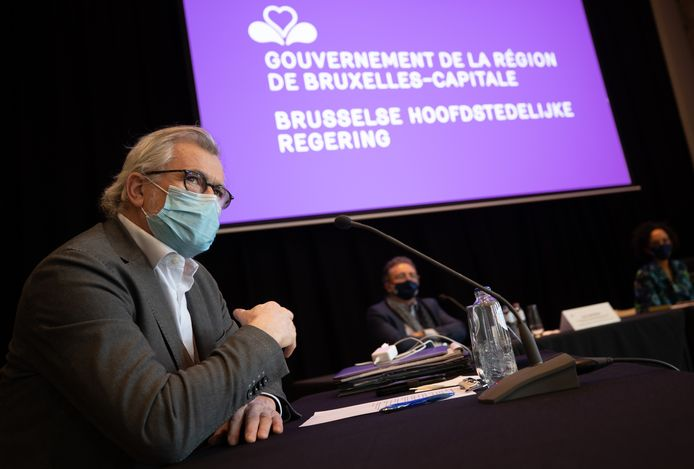 Bernard Clerfayt, le ministre bruxellois en charge de la Transition numérique