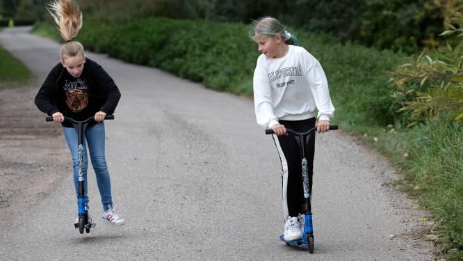 Tessa (9) en Saar (8) willen een skatebaan in Lobith:  petitie inmiddels al 225 keer ondertekend