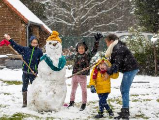 Ook vandaag kleurt Vlaanderen wit: sneeuw valt lokaal met pakken uit de lucht