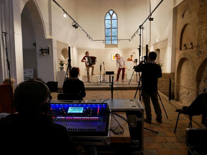 De opnames van het laatste concert in het Kerkje in Velp. Met trompettist Eric Vloeimans en accordeonspeler Tuur Florizoone.