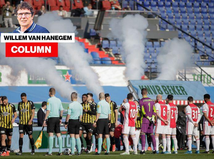 Columnist Willem van Hanegem over de bekerfinale.