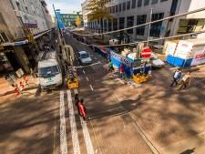 Vestdijk in Eindhoven 3 dagen afgesloten voor doorgaand verkeer