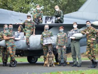 Kings, Wings, Queens en F-16's schitteren op kalender: geen opendeurdag op luchtmachtbasis, dus pakken militairen en piloten uit met unieke foto's