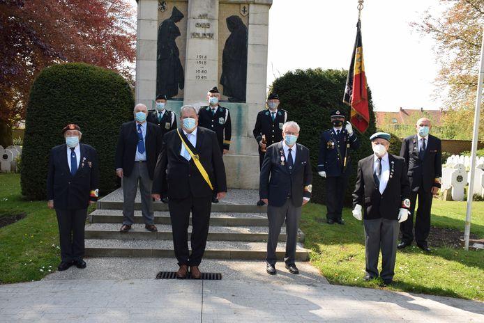 V-Day werd onder meer op de oude stedelijke begraafplaats herdacht.