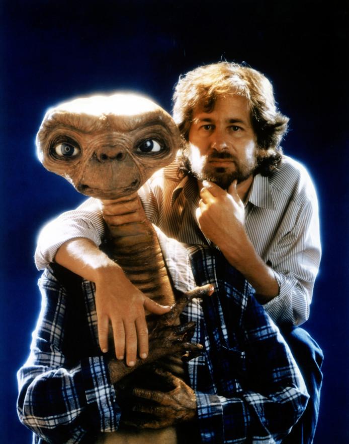 In 1982 op de set van E.T.