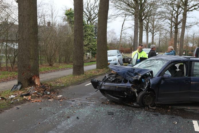 Ongeluk op de. Ollandseweg in Sint-Oedenrode