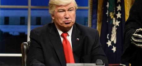 Alec Baldwin krijgt maar geen genoeg van typetje Trump