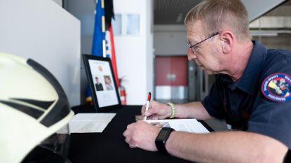 Brandweer Bornem legt rouwregister voor sergeant Geert Jansegers (57)