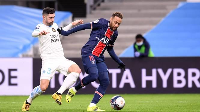 Episode drie in de persoonlijke vete: na knokpartij en Twitter-ruzie, nu blessure voor Marseille-verdediger Alvaro na sprintje met Neymar