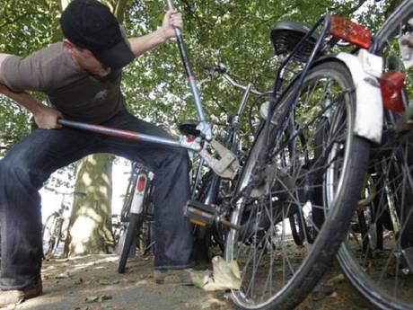 Gouda spant kroon met fietsendiefstallen