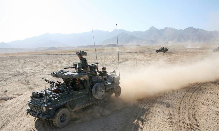 Nederlandse 'special forces' aan het werk in Afghanistan. Beeld Ton Koene