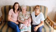 Overgrootmoeder Mariette Suenens (86) staat fier aan het hoofd van een viergeslacht