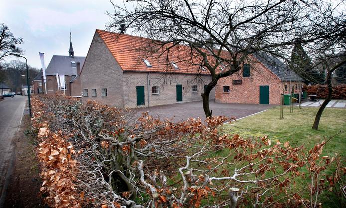 Bezoekerscentrum Teutenhuis aan de Domineestraat in Bergeijk.