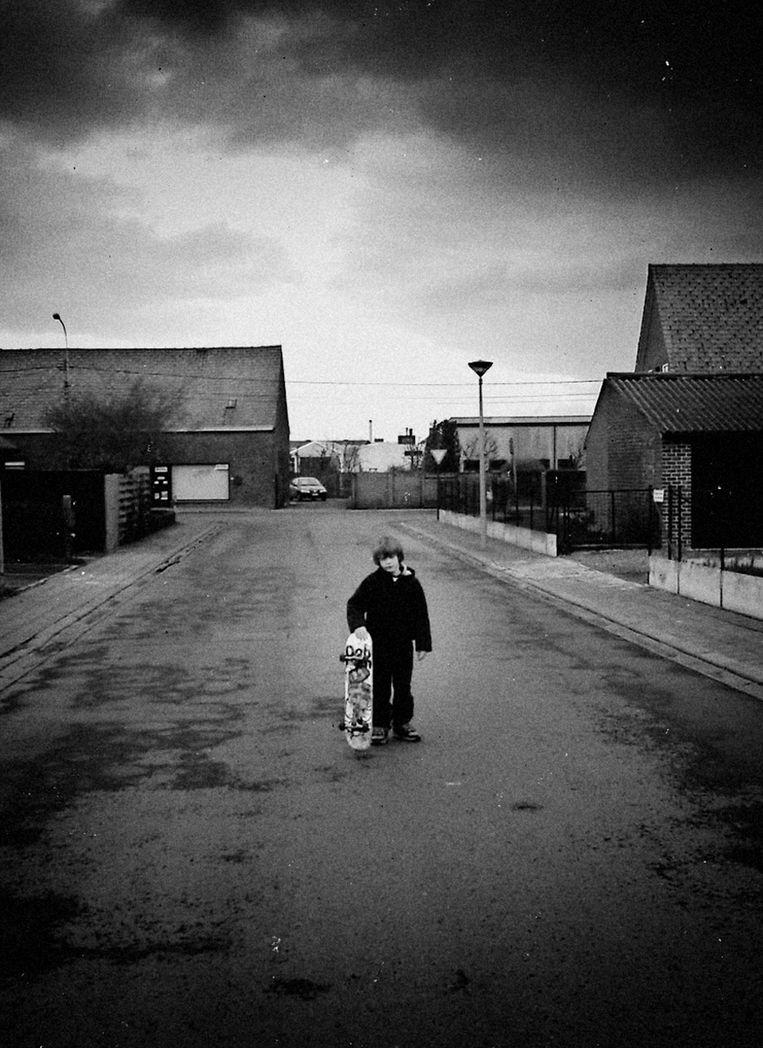 Axel Cruysberghs, al vele jaren een goeie vriend van de fotograaf, in 2003. Beeld Thomas Sweertvaegher