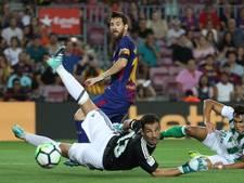 FC Barcelona opent seizoen met zege op Real Betis