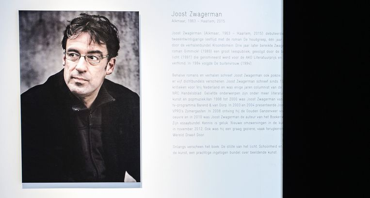 De zelfdoding van Joost Zwagerman in september bracht een grote schok teweeg. Beeld anp