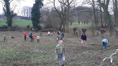 """1.100 nieuwe bomen en struiken voor Burreken: """"Extra bos om te spelen, lopen en wandelen is nodig in Vlaanderen"""""""