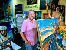 Bij deze kunsthandel koop je al voor een paar tientjes een schilderij: 'Voor elk huis wel iets te vinden'