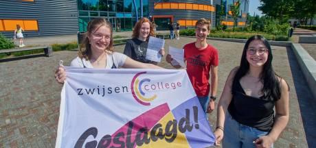Vier 'jonkies' van het Zwijsen College slagen in vijf jaar voor vwo