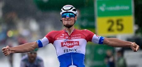Van der Poel snelste in sprint: 'Als je ziet wie ik hier allemaal klop, dan mag je dit toch een knappe zege noemen'