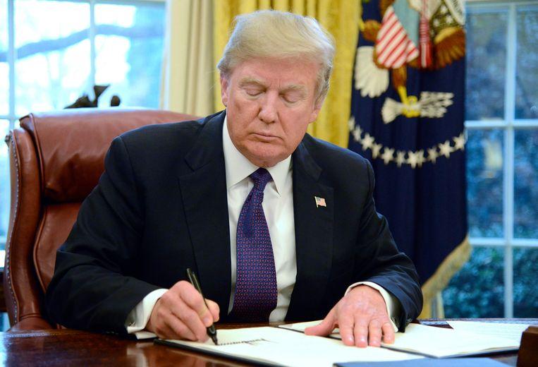 Trump maakt zich vooralsnog