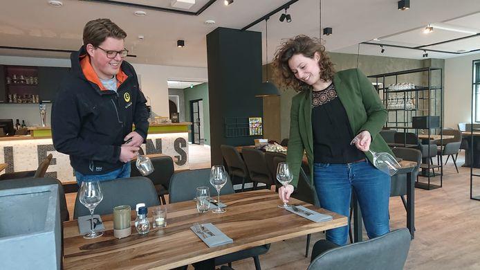 Olivier Forma en Loes Kappen staan met restaurant Clemens voor het eerst op eigen benen.