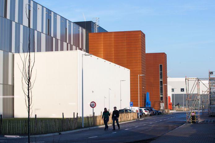 Het datacenter van Google in Eemshaven