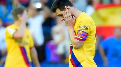 Barça geeft match tegen Levante helemaal uit handen: in acht minuten van 0-1 naar 3-1-verlies