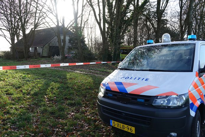 De politie deed in december onderzoek in en bij de woning in de Krim.