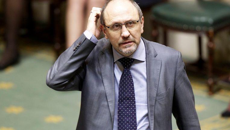 Johan Vande Lanotte (sp.a), minister van Economie. Beeld BELGA