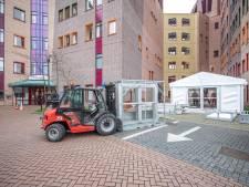 Twee coronapatiënten Isala Zwolle naar ziekenhuis Münster
