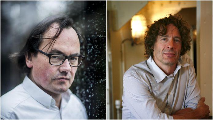Braeckman (links) en Draulans (rechts) moeten zich maandag verantwoorden na een rechtstreekse dagvaarding door de vzw Viruswaanzin