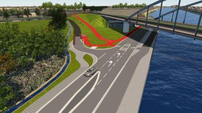 Nieuwe fietshelling moet Albertkanaalbaan veiliger maken