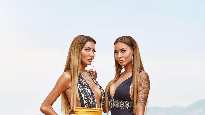 Tweelingzussen Sharon & Esmee Ipema uit 'Ex on the Beach: Double Dutch'