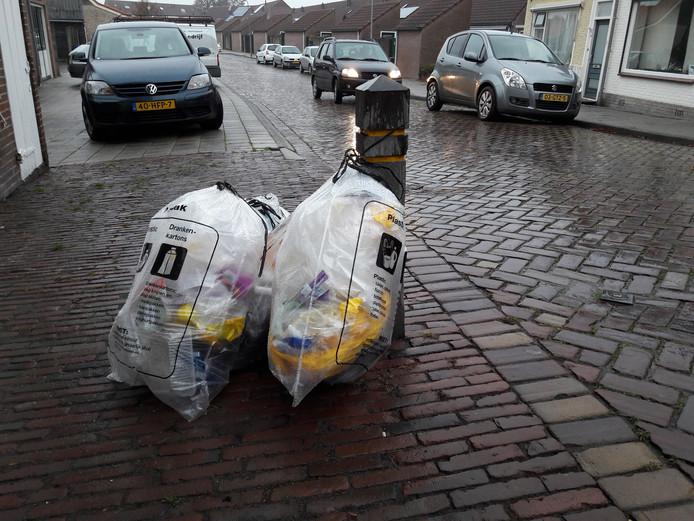 Plastic en drankkartons worden nu apart ingezameld en opgehaald in Tholen.