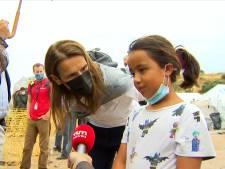 """Wilmès à une fillette réfugiée à Lesbos: """"C'est aux grandes personnes d'essayer de trouver des solutions"""""""