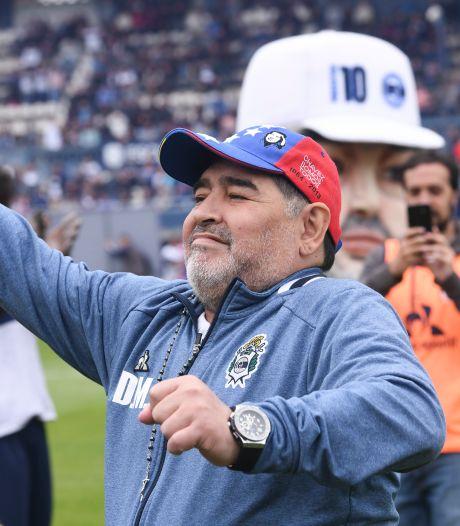 Derde thuisnederlaag voor Maradona als coach van Gimnasia