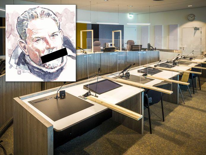 Jos Brech zal de stilte die nu nog in de rechtzaal heerst, naar alle waarschijnlijkheid niet doorbreken.