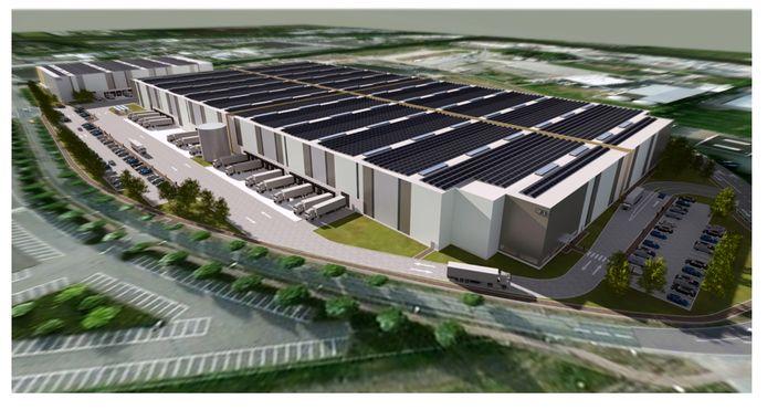 Weer nieuw logistiek centrum op Borchwerf in Roosendaal