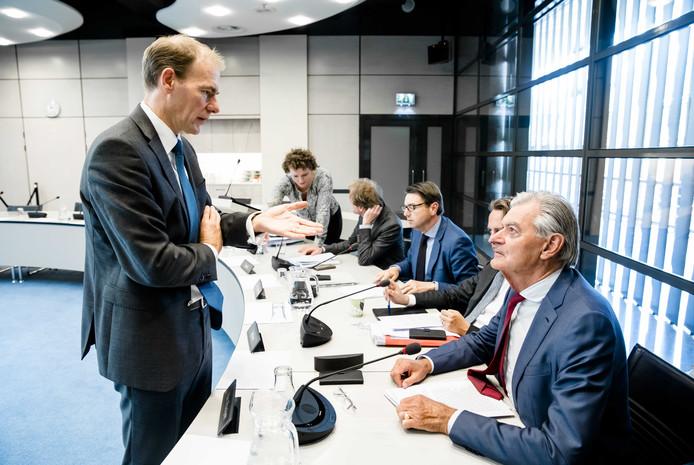 Oppositiepartijen in de Tweede Kamer vangen bot. De Belastingdienst wordt geen 'groot project'.