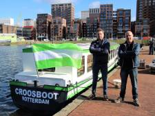 Beroemde Croosboot is terug in Rotterdam...nu nog een aanlegsteiger