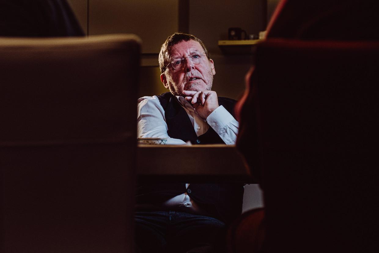 Voorzitter van het Vlaams Audiovisueel Fonds Siegfried Bracke (N-VA). Beeld Wouter Maeckelberghe
