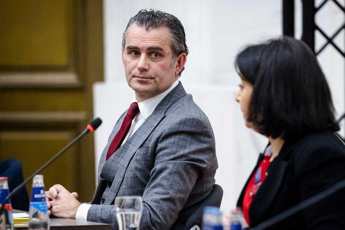 Tom van der Lee (GroenLinks), de nieuwe voorzitter van de commissie aardgaswinning Groningen.