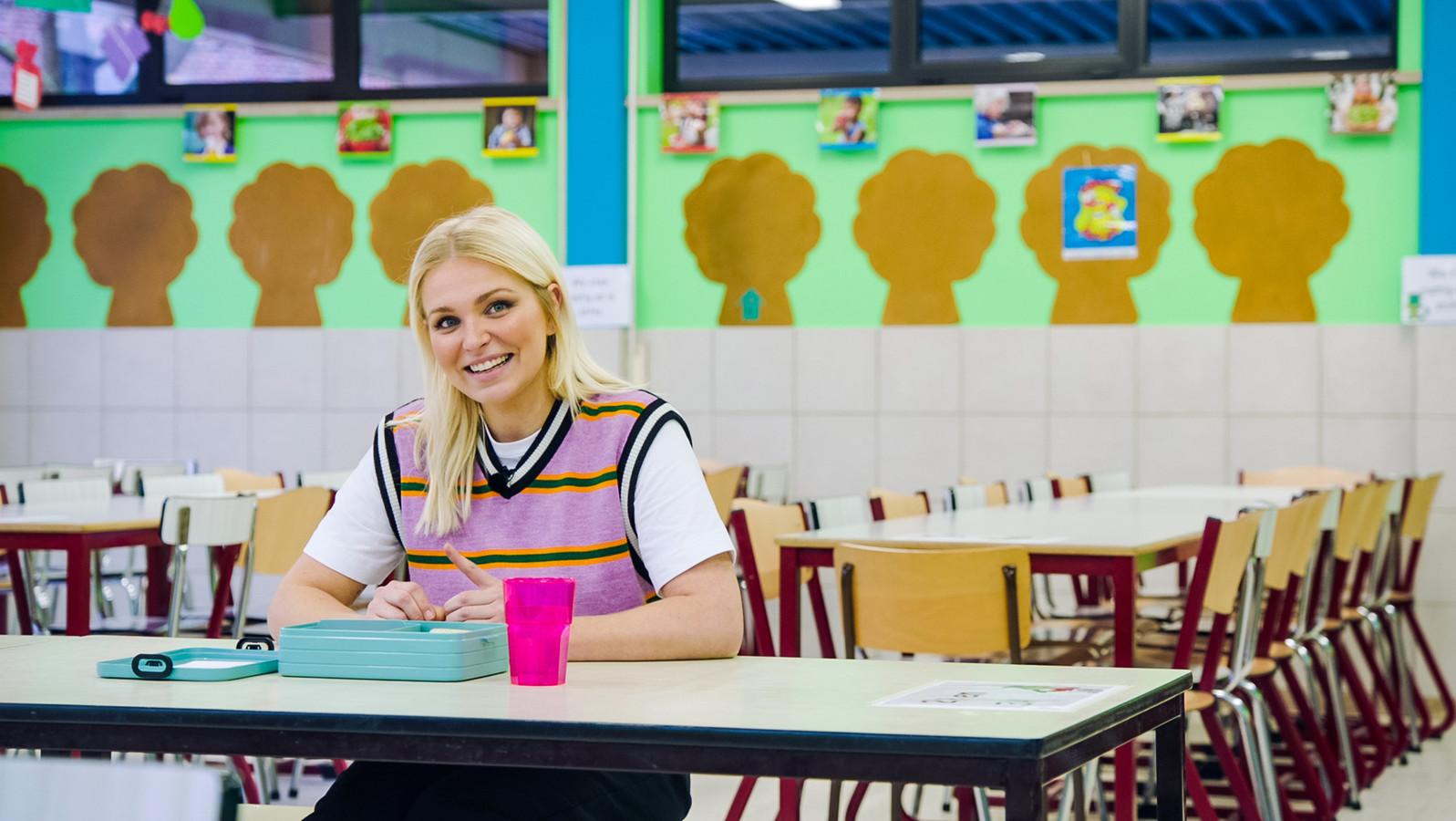 Julie Van den Steen in 'Later als ik groot ben'